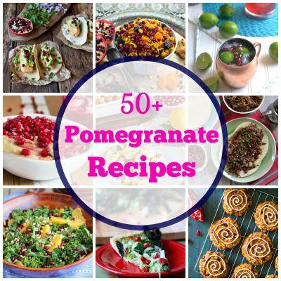 50+ Pomegranate Recipes - What Jew Wanna Eat