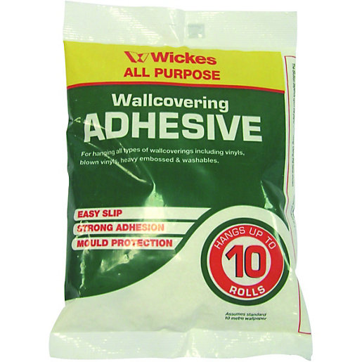 Wickes Powdered Wallpaper Adhesive 10 Roll | Wickes.co.uk