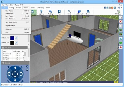 Download DreamPlan Home Design Software 4.10 Beta