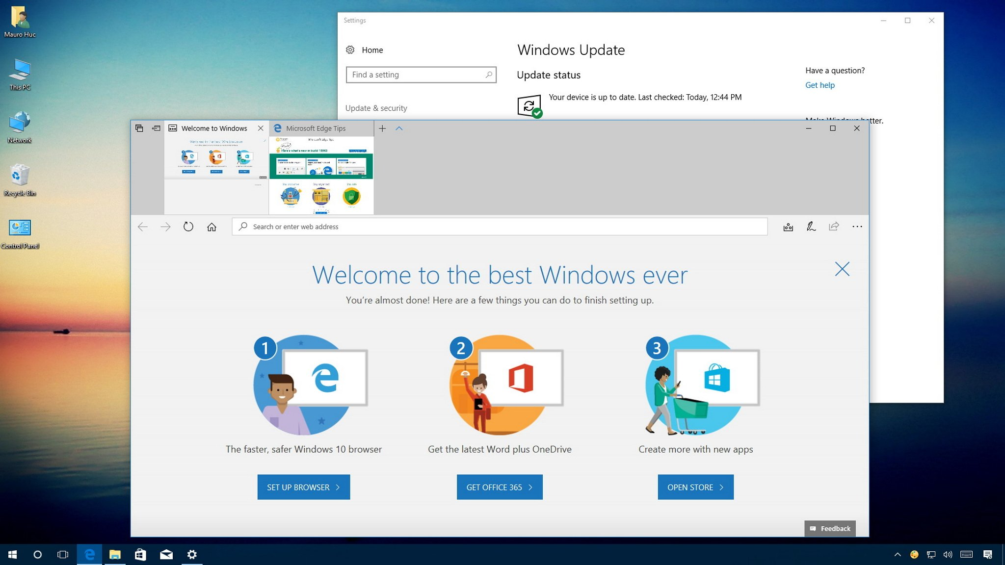 How to stop Windows 10 from showing the welcome screen after feature updates   Windows Central