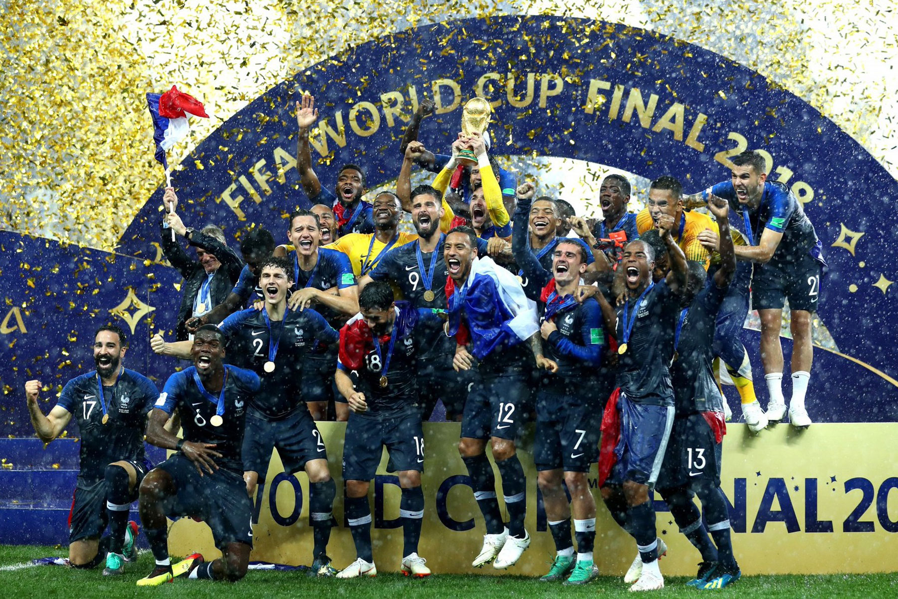Muslim players help French national football team win FIFA 2018     The French national team was named world champion after defeating the  Croatian team 4 2 in the 2018 FIFA World Cup Final in Moscow on Sunday   France won its