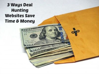 3 Ways Deal Hunting Websites Save Time & Money - Woman of Many Roles