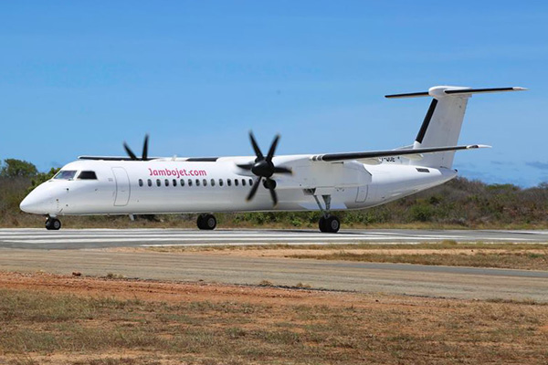 Jambojet becomes a new Bombardier Q400 operator | World Airline News