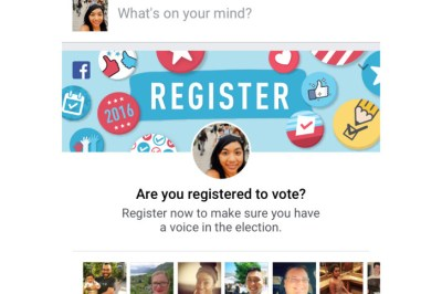 Facebook could be behind recent spike in Va. voter registrations   WTOP