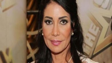 Photo of Sawsan Badr recovering from her sickness and begin filming new work