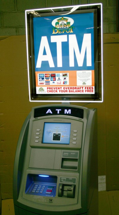 Cash Depot Offers Dynamic New ATM LCD Sign Topper