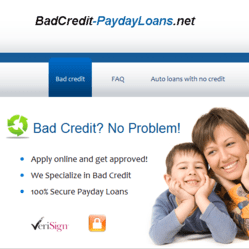 Payday Loans with Bad Credit – Fast New Online Comparisons Service