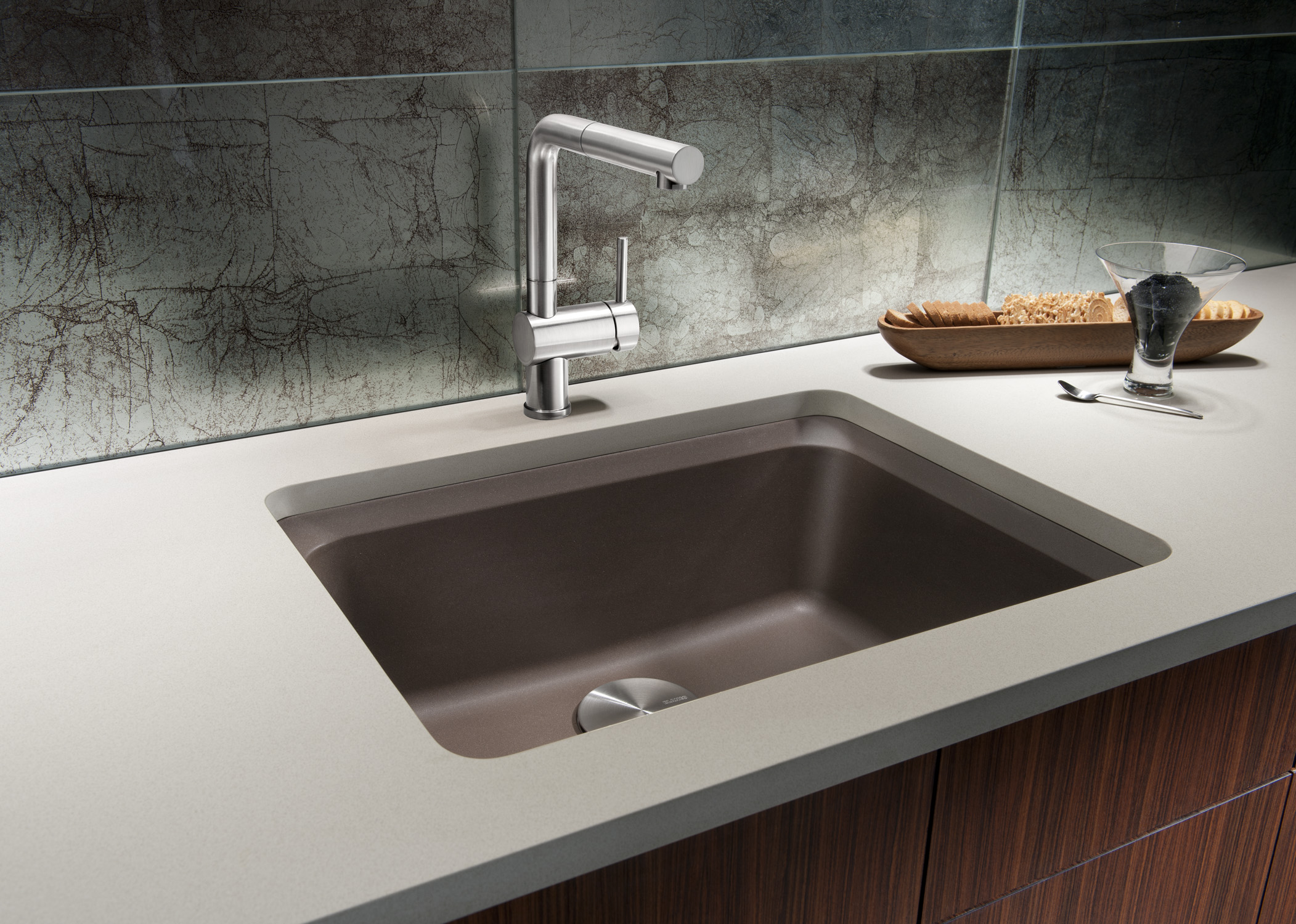 prweb designer kitchen sinks BLANCO SILGRANIT II VISION Kitchen SinkThe new BLANCO SILGRANIT II VISION designer sink offers luxurious usability at great value without compromising