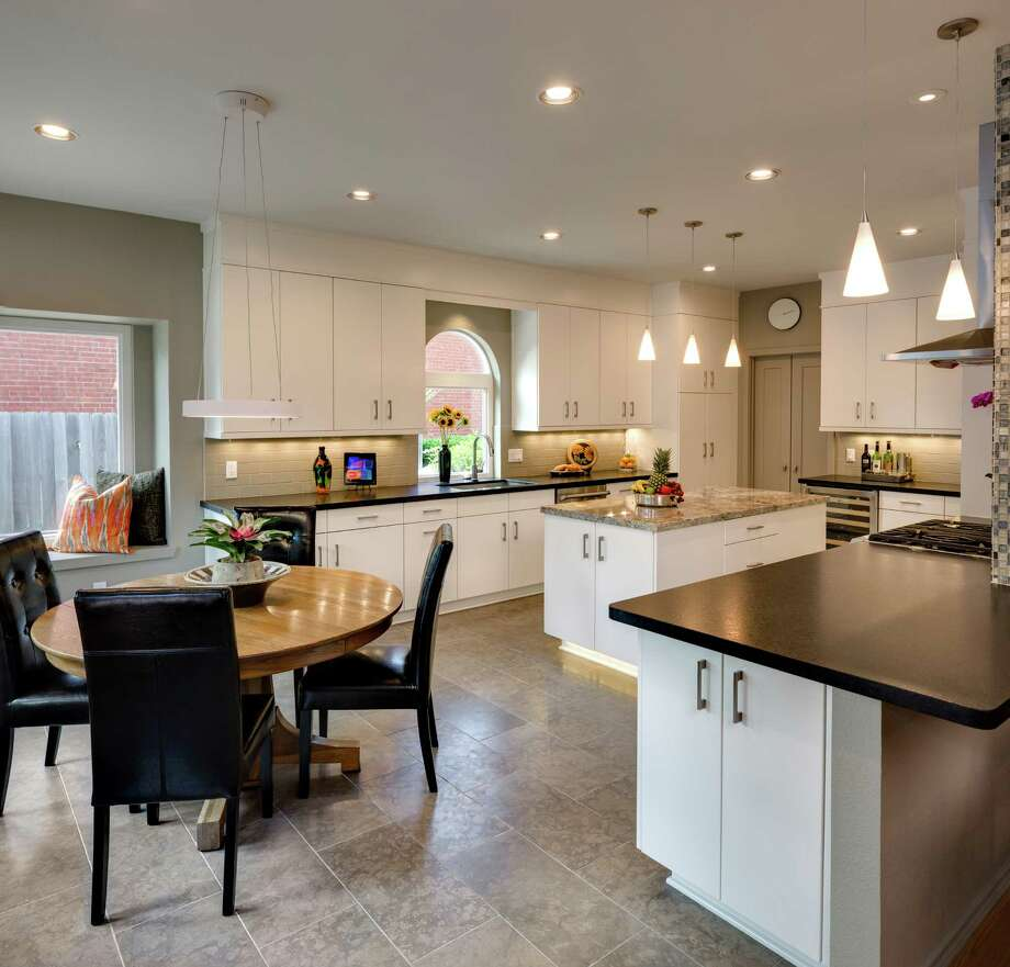 Kitchen remodeling franchise sees a spacious kitchen remodeling houston File photo of a Houston area kitchen remodel in Kitchen Solvers a
