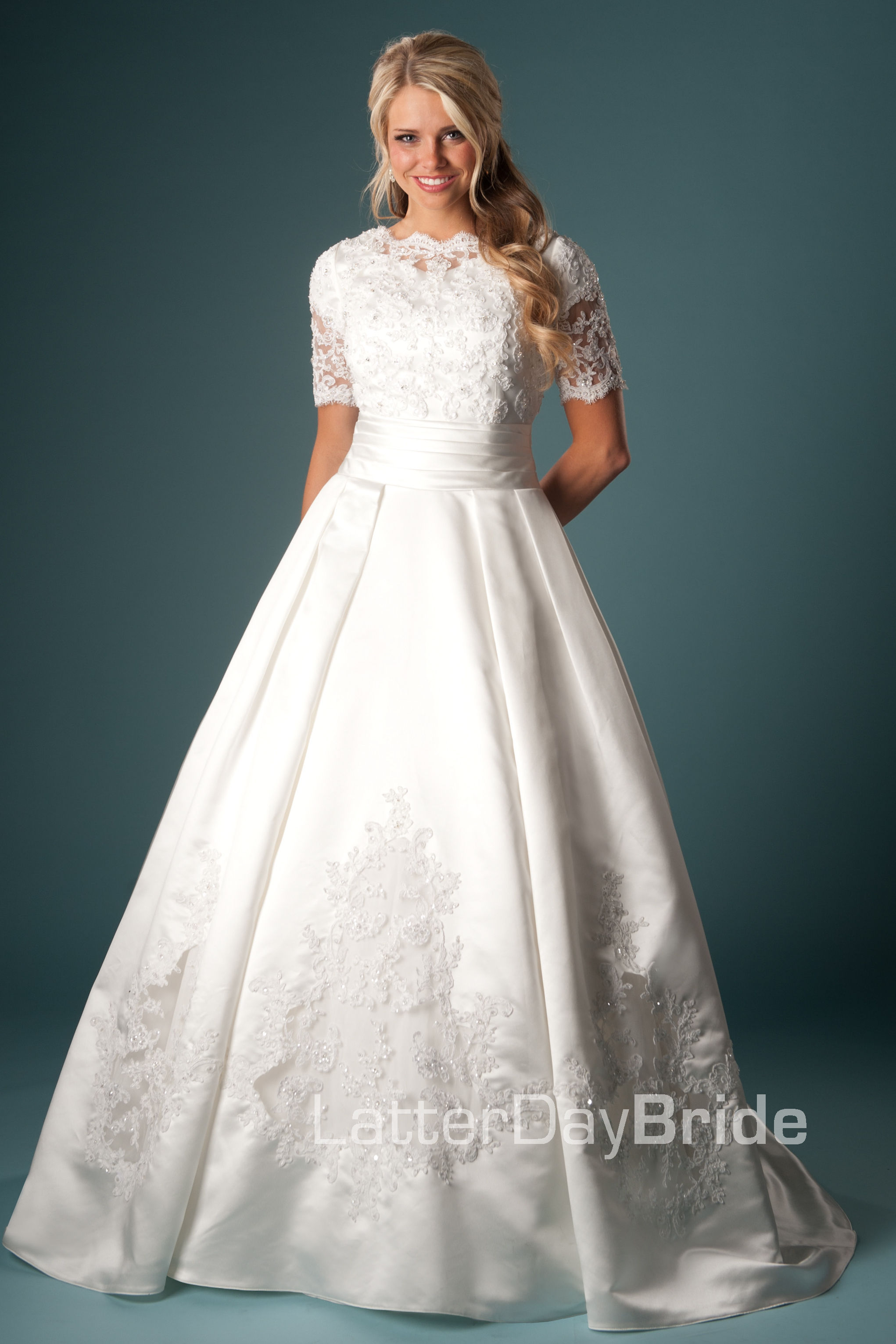 modest wedding gowns that are still to die for conservative wedding dress