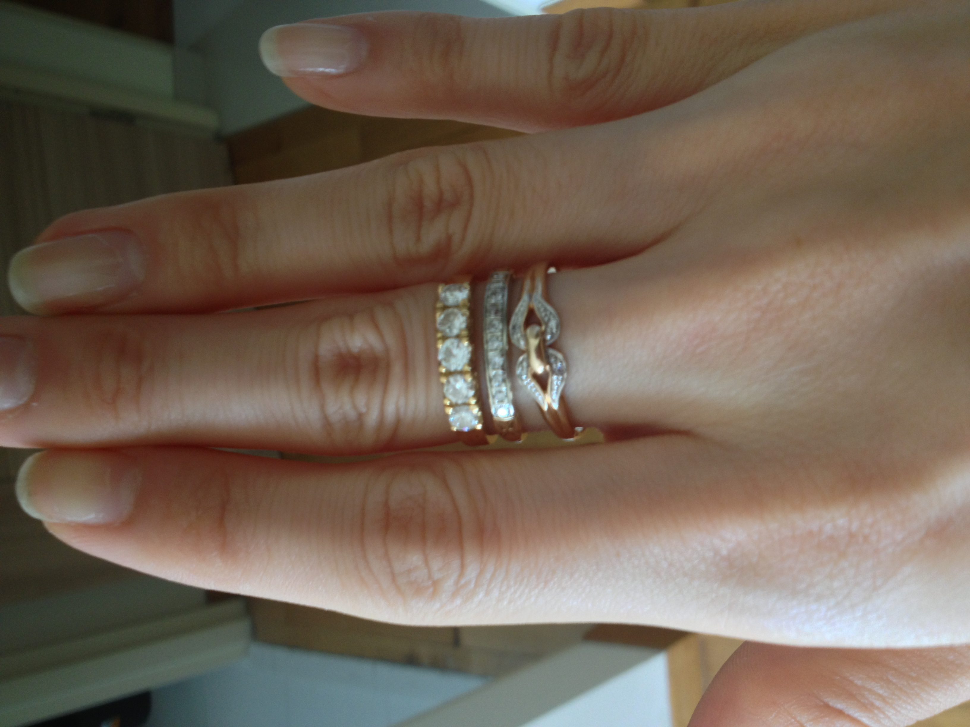 show me your vintage or heirloom rings vintage wedding band Post 11