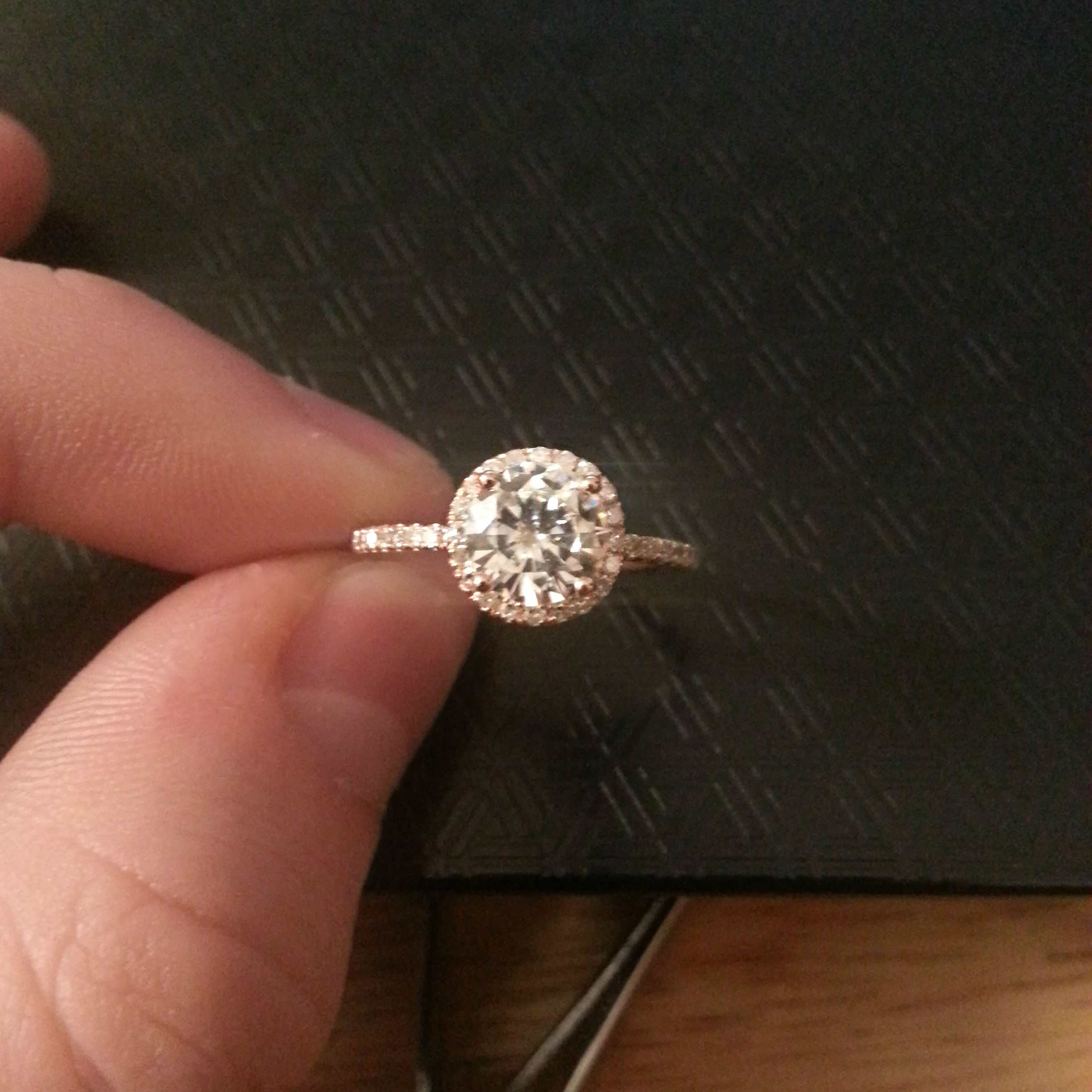 wedding band for a thin halo engagement ring dainty wedding bands Other than that I am extremely open minded
