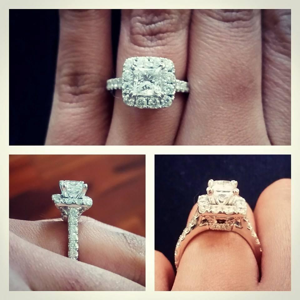 2 carat neil lane engagement ring on 4 5 size finger neil lane wedding bands Tagged diamond