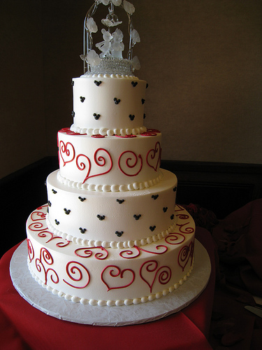 Which wedding cake should I do? Whch would look better ...