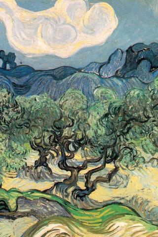 Best artist - Van Gogh - 320x480 (iPhone/iTouch) Wallpaper #2