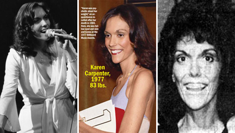 Karen Carpenter     110 Pounds and Counting She