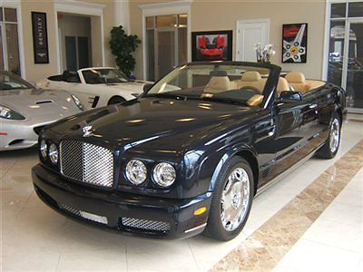 Purchase used 2008 BENTLEY AZURE. ONLY 6KMLS!!! in Miami, Florida, United States, for US $134,800.00