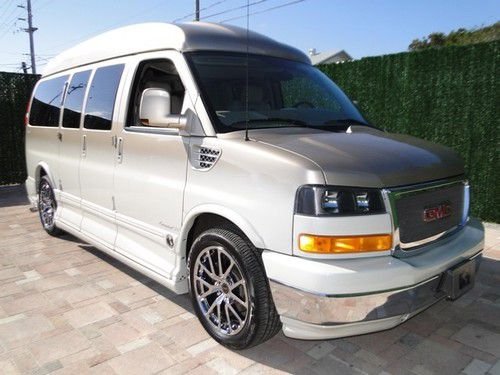 GMC Savana for Sale   Page  28 of 29   Find or Sell Used Cars         2011 gmc conversion high top custom van loaded full warranty explorer  lmt se