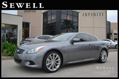 Find used 2010 Infiniti G37 Coupe at Sewell Infiniti in Houston, Texas, United States, for US ...