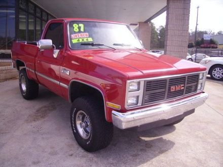Purchase used 1987 Chevy GMC Sierria Classic1500 4X4 350 Engine FI     1987 Chevy GMC Sierria Classic1500 4X4 350 Engine FI Rebuilt Tranny LIKE  NEW