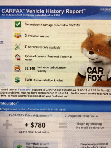Find used Excellent Carfax, Clean Title.