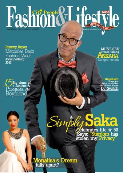 Nollywood's Chika Ike Covers City People Fashion ...