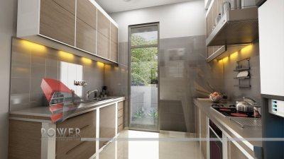 Modular Kitchen Interiors | 3D |Interior Designs | 3D Power