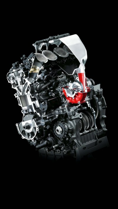Kawasaki H2R Engine Wallpaper for iPhone X, 8, 7, 6 - Free Download on 3Wallpapers