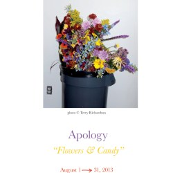 Agnès B Galerie Boutique Apology Flowers Candy
