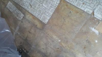 Images of asbestos flooring