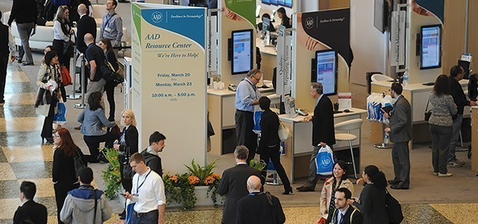 Meetings and events   American Academy of Dermatology 678 x 318
