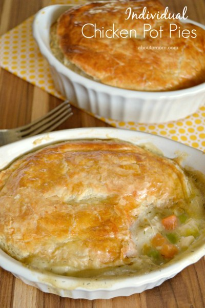 Chicken Pot Pie Recipe for Two #ChefTails - About A Mom