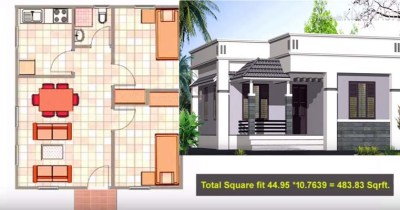 List of Home Plan Below 5 lakhs with 2 Bedrooms | Acha Homes
