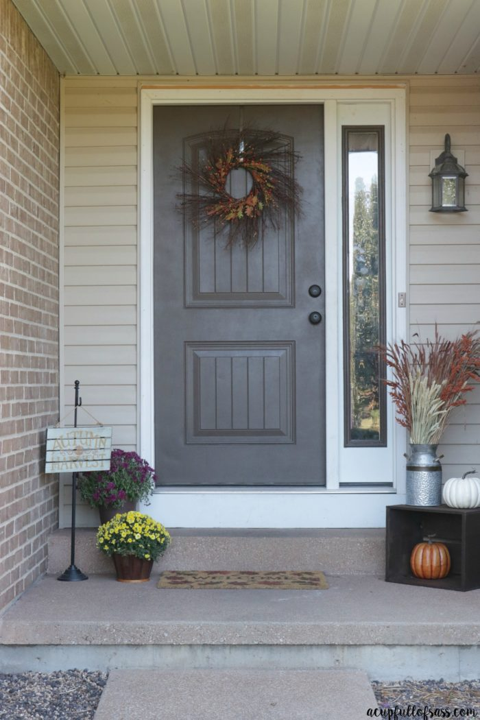 Fall Porch Decor Ideas   A Cup Full of Sass Easy Fall Porch Decor Ideas
