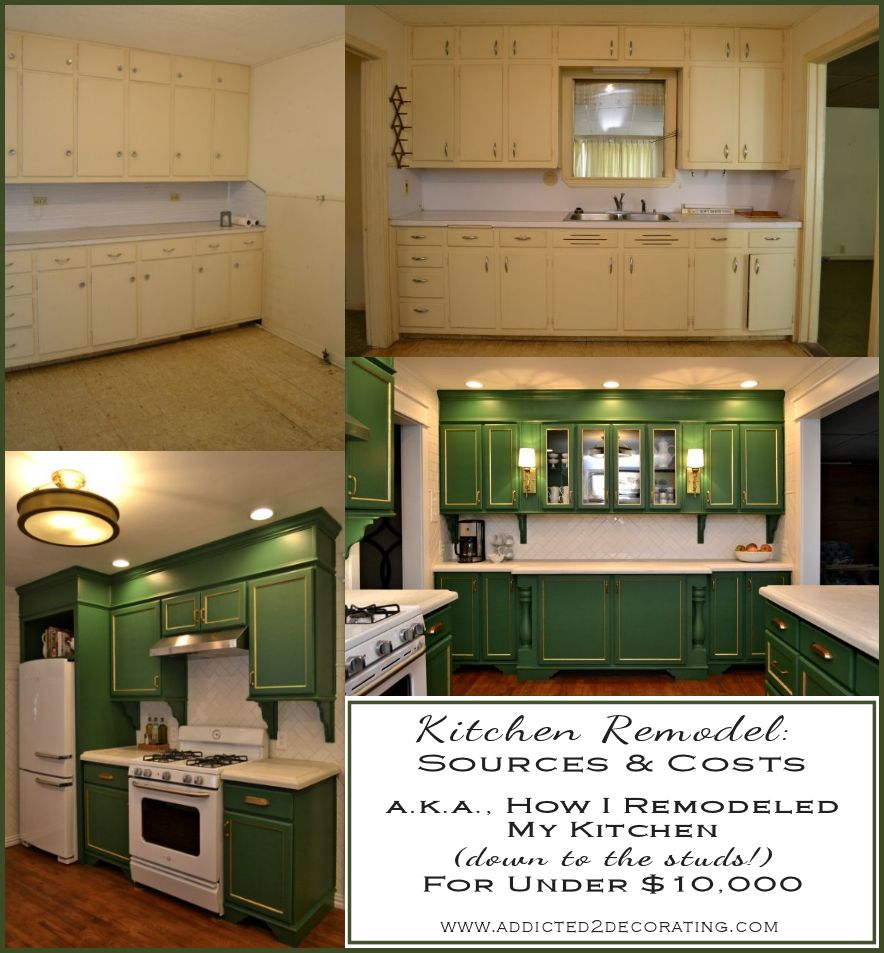 kitchen remodel sources cost breakdown grand total kitchen remodel cost My complete down to the studs kitchen remodel came in at just under