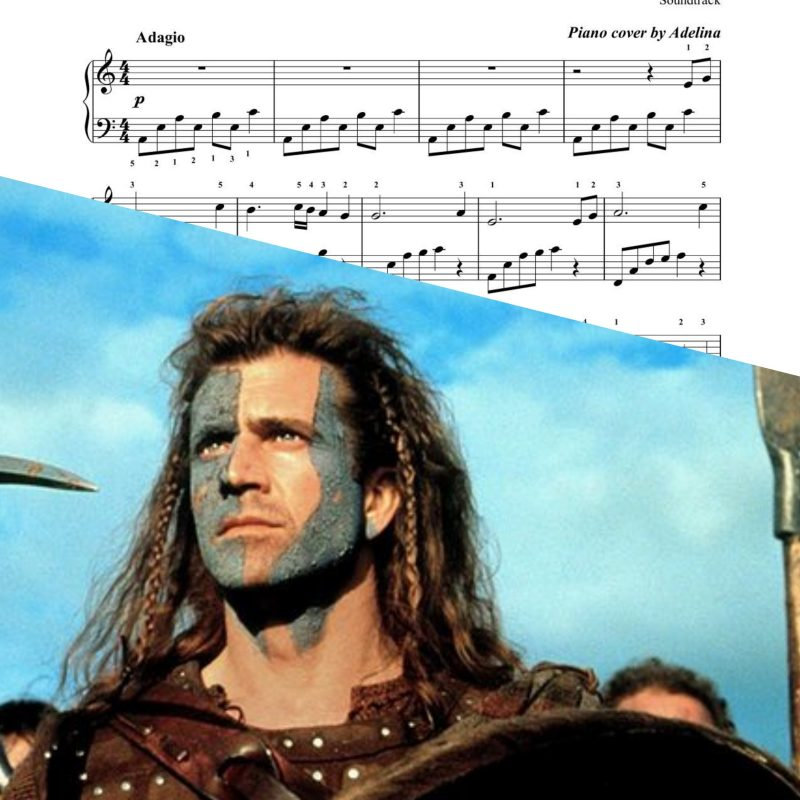 """Braveheart song"" – James Horner – Piano Sheet Music"
