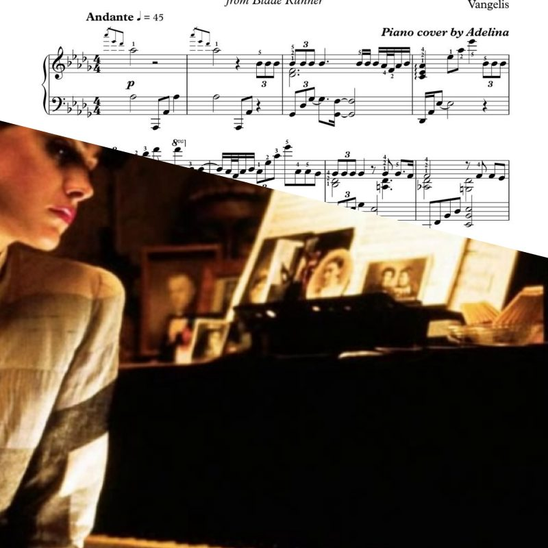 """Love Theme Of Blade Runner"" – Piano Sheet Music"