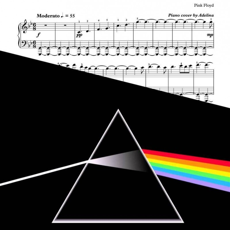 """Shine On You Crazy Diamond"" – Pink Floyd – Piano Sheet Music"