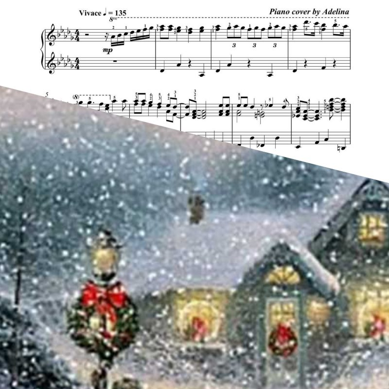 """Let it Snow!"" – Dean Martin – Piano Sheet Music"