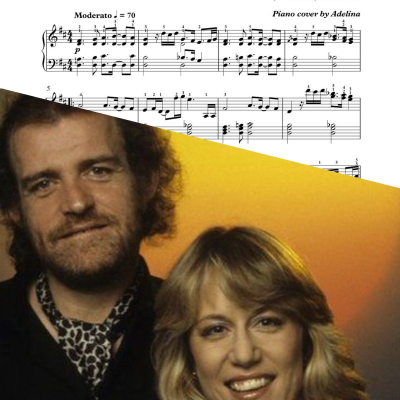 """Up where we belong"" – Joe Cocker & Jennifer Warnes – Piano Sheet Music"