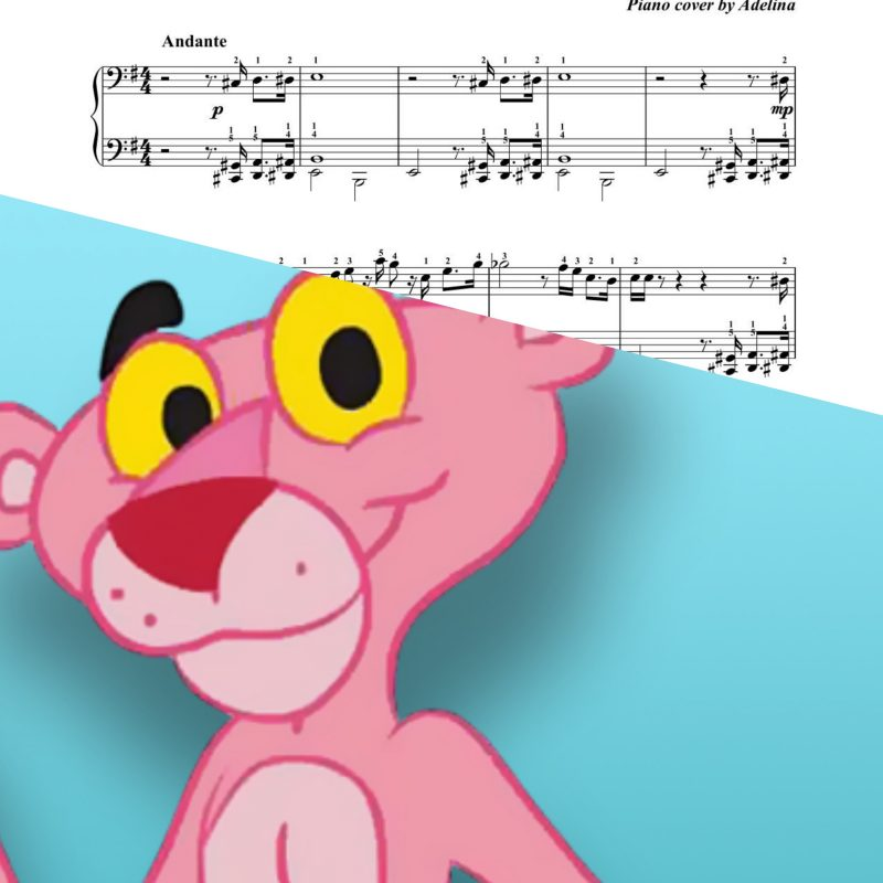 """The Pink Panther"" – Theme song – Piano Sheet Music"