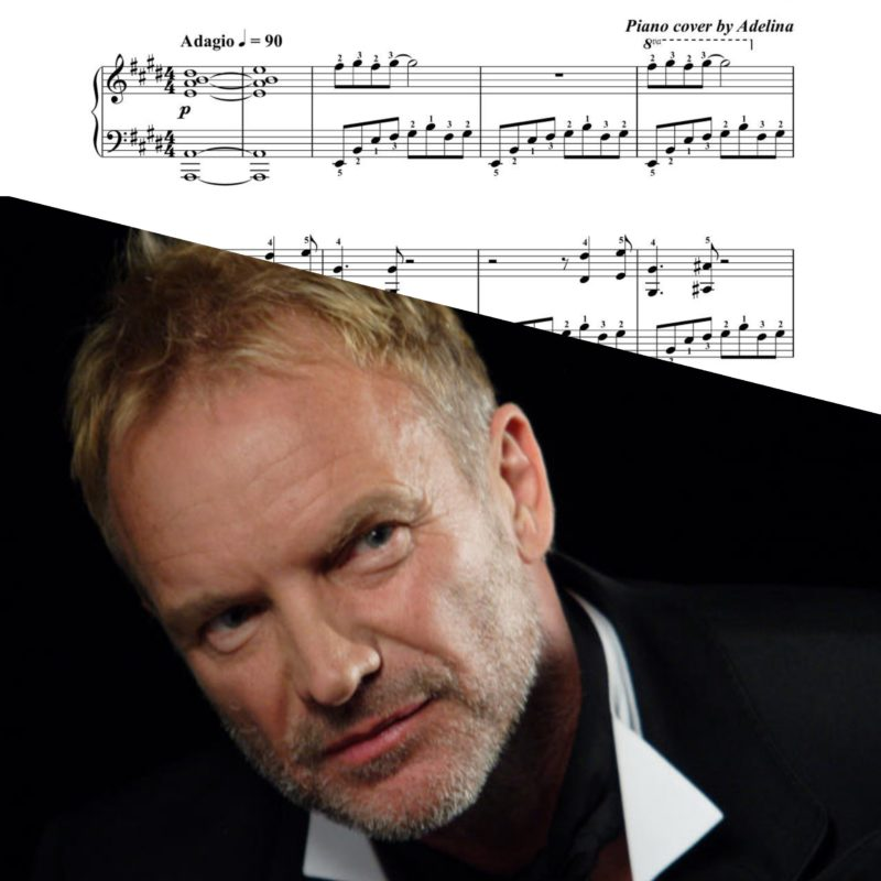 """When We Dance"" – Sting – Piano Sheet Music"