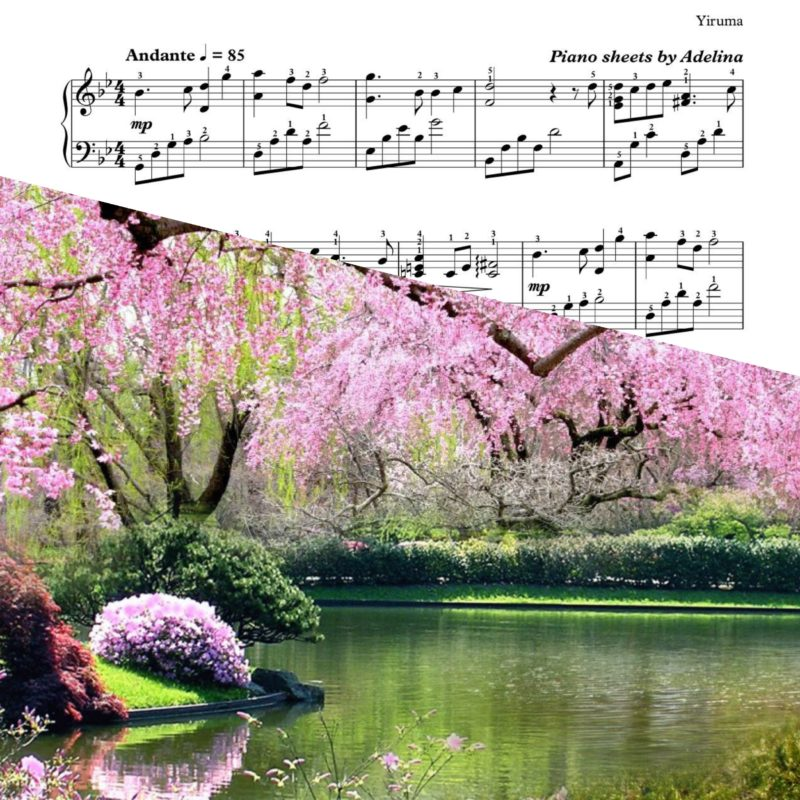 """Spring Time"" – Yiruma – Piano Sheet Music"