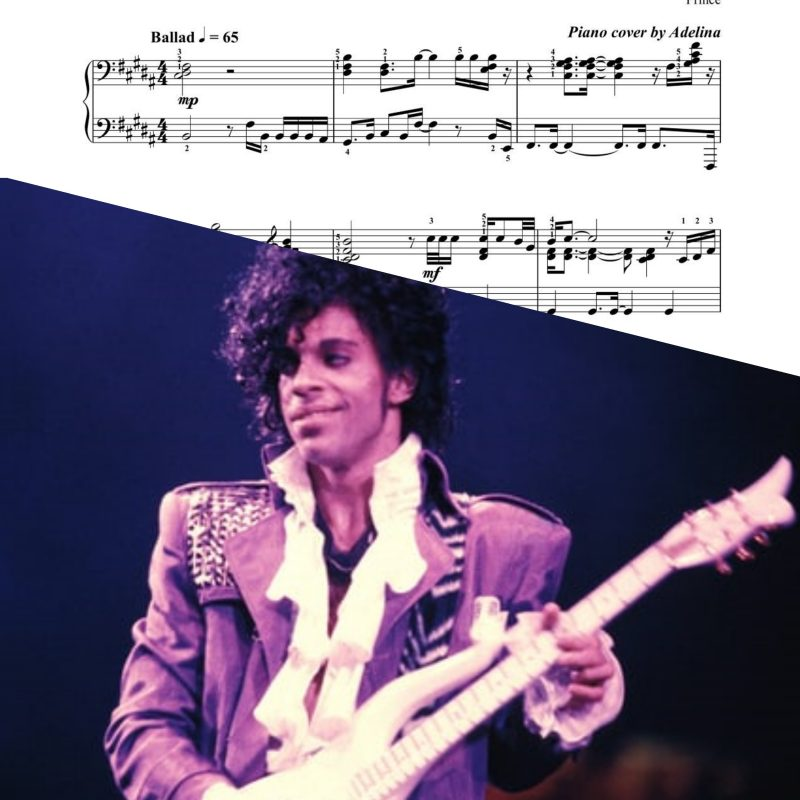 """Purple Rain"" – Prince – Piano sheet music"