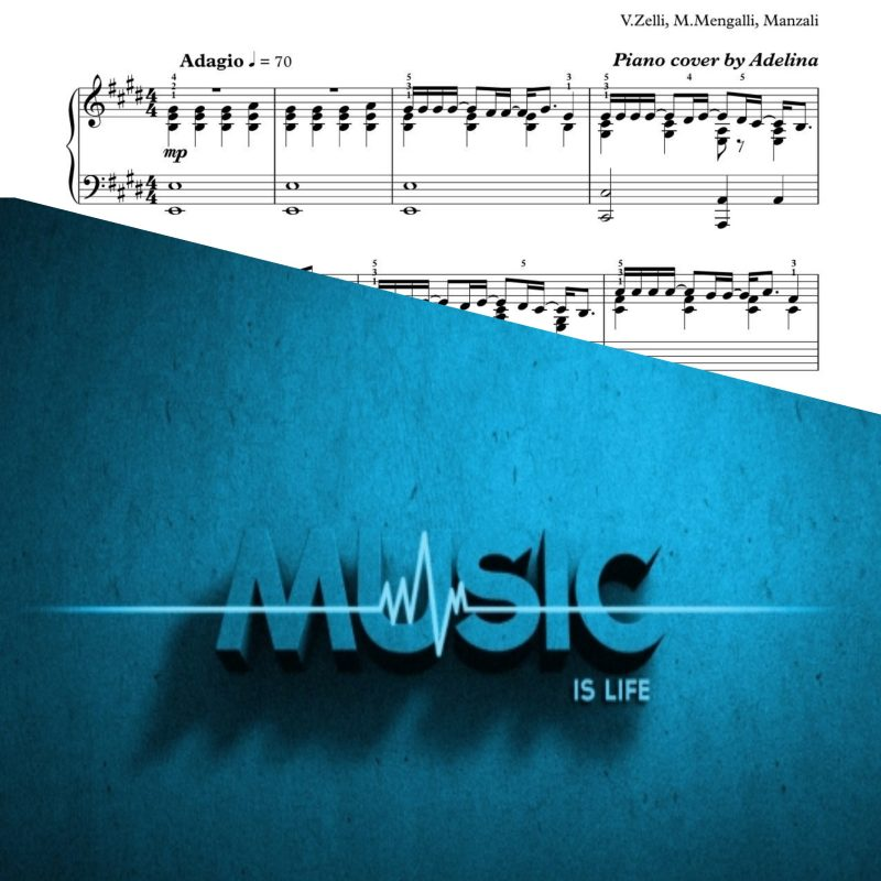 """Vivo Per Lei"" – Piano Sheet Music"