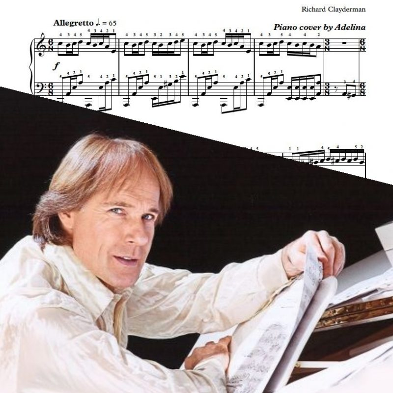 """Les Fulgurances Du Coeur"" – Richard Clayderman – Piano Sheets"