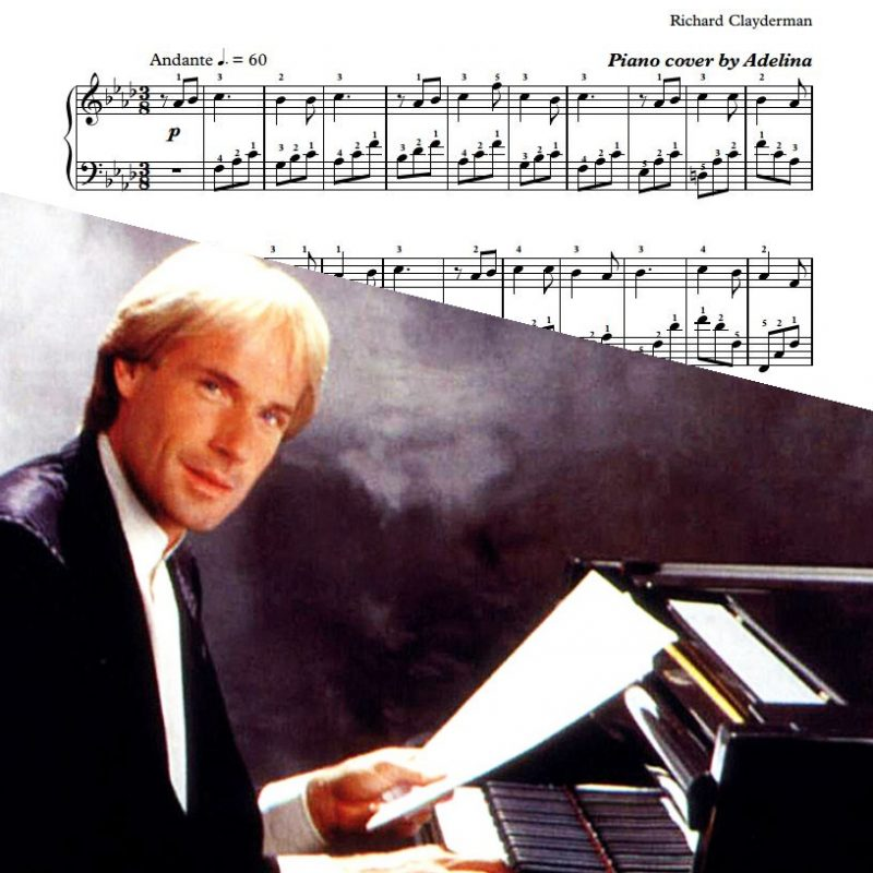 """L'espoir D'une Autre Rive"" – Richard Clayderman – Piano Sheet Music"