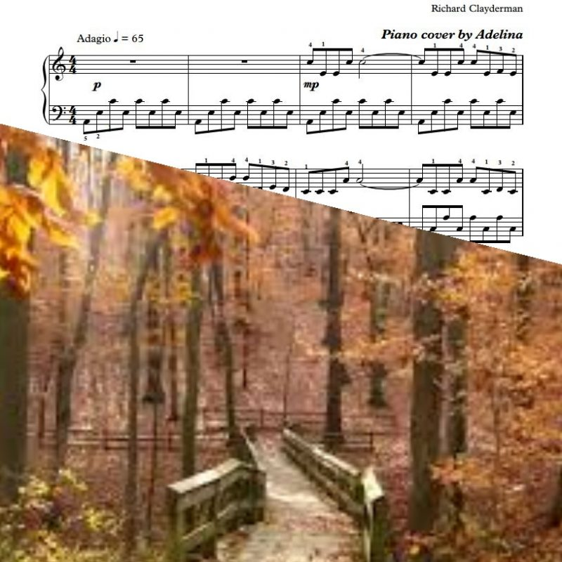 """Love Story"" – Richard Clayderman – Piano Sheet Music"