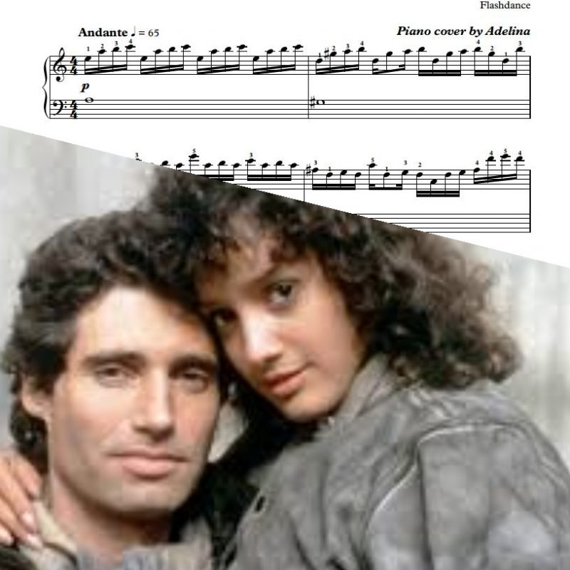 """Love Theme"" – Flashdance – Piano Sheet Music"