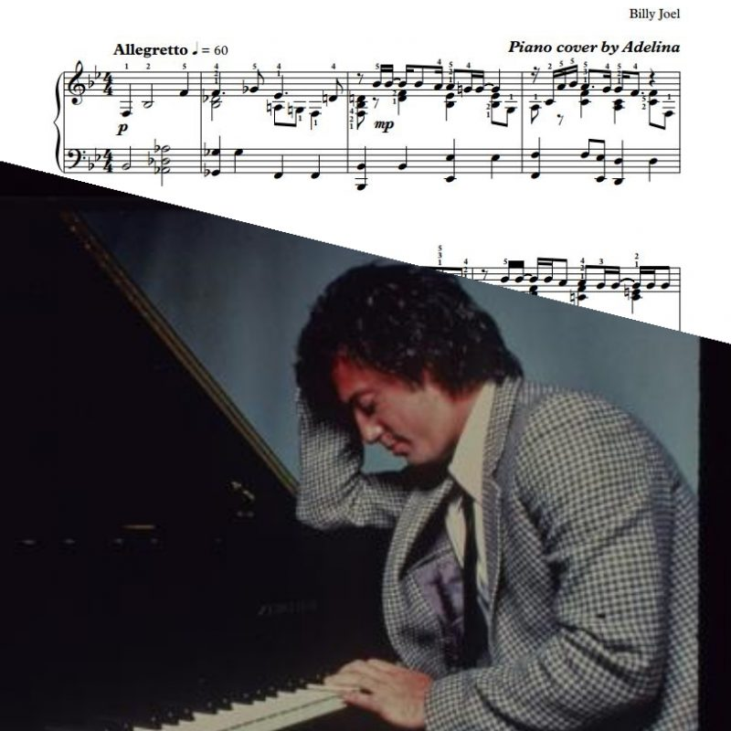 """Honesty"" – Billy Joel – Piano Sheet Music"